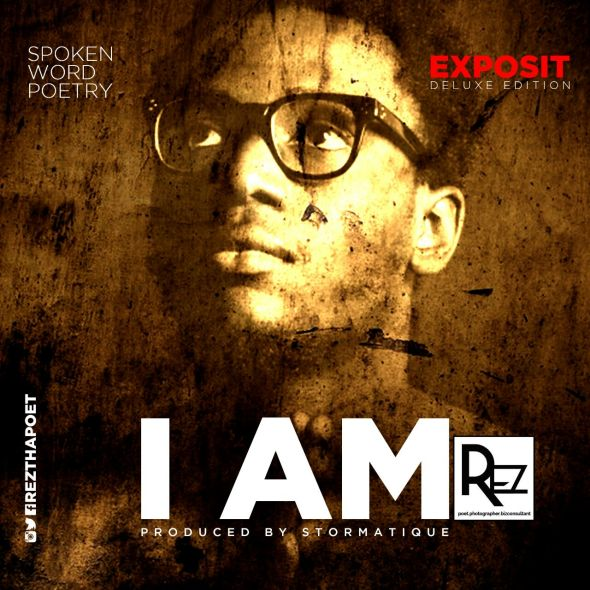 I AM - REZthaPoet Cover art_Final